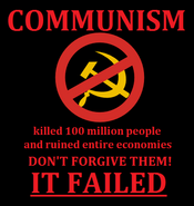 Poster Anti-communism LD