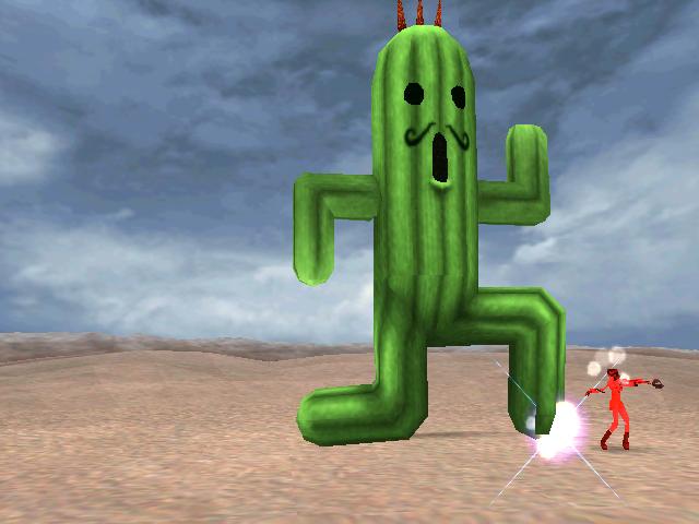 Jumbo Cactuar Final Fantasy Viii The Final Fantasy