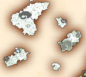 Southern Ice Islands Map