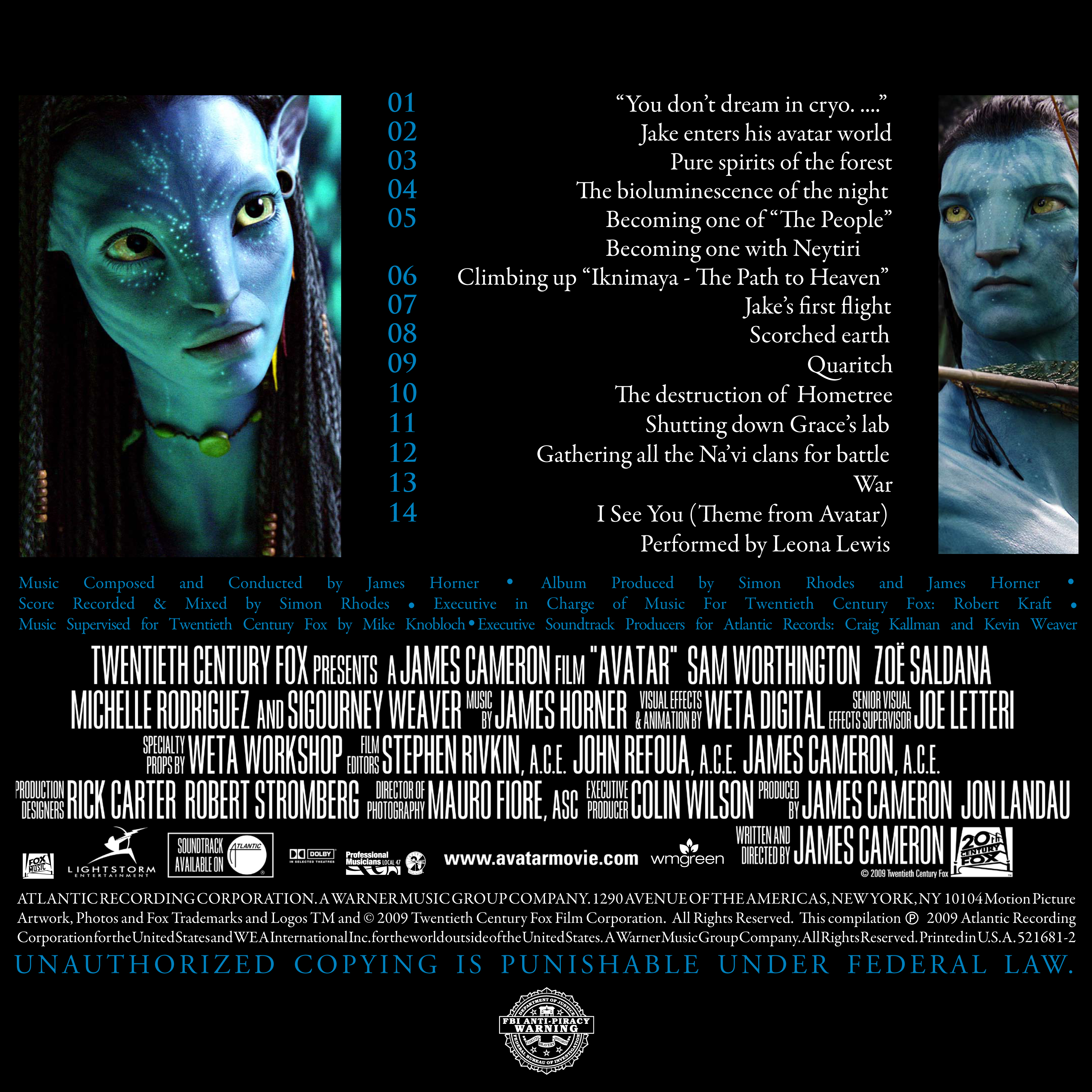 Avatar: Music from the Motion Picture - James Cameron's Avatar Wiki ...: james-camerons-avatar.wikia.com/wiki/Avatar:_Music_from_the_Motion...