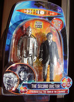 The 2nd Doctor & Cyber, B&W