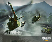 UH-1 Iroquois in-flight wallpaper Victor Charlie BO