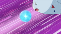 EP646 Togekiss usando Esfera Aural