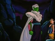 Piccolo and goku final scene