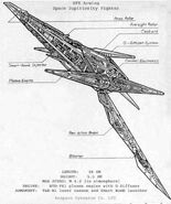 Arwing Blue prints