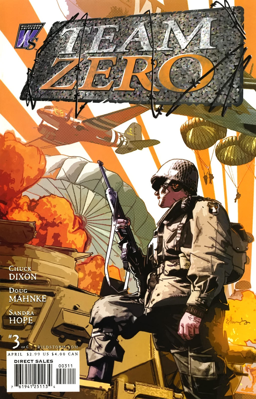 Team Zero Vol 1 3 - DC Comics Database