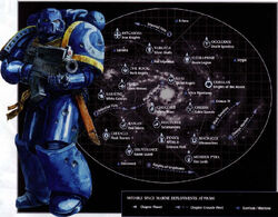 Space marines deployments