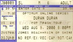 Jones beach duran ticket