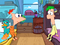 Phineas and Ferb in Pajamas - cropped