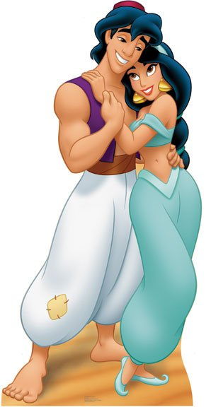 Jasmine and Aladdin 