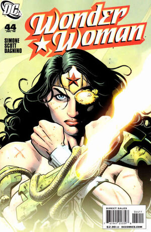 Cover for Wonder Woman #43