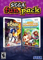 SegaFunPack SSoRSMB Wii us box