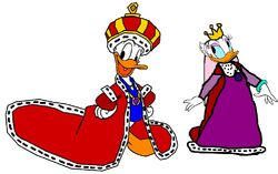 King Donald and Queen Daisy