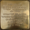 Willi Brümmer Stolperstein tom