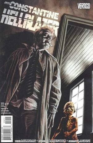 Cover for Hellblazer #252