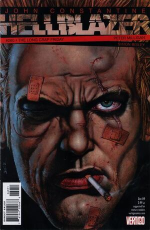Cover for Hellblazer #260