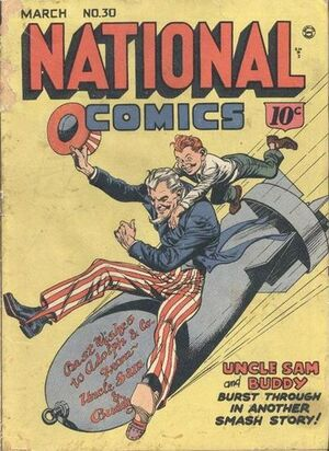 Cover for National Comics #30