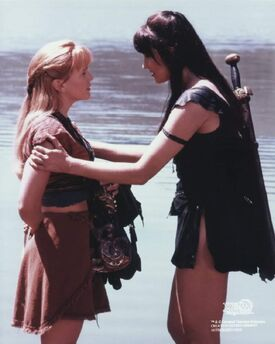 Xena and Gabrielle Mortal