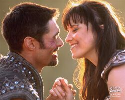 Ares and Xena Coming