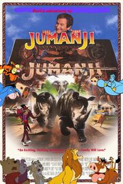 Pooh's adventures of Jumanji Poster