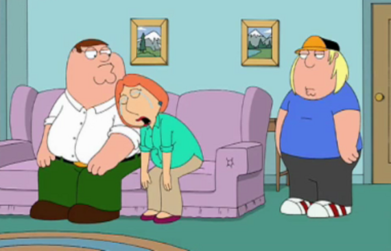 Family Guy Season 8 Episode 21 Partial Terms of Endearment