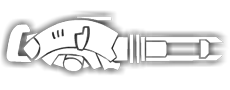 Laser Railgun symbol transparent