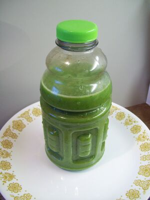 Mustard Greens Smoothie