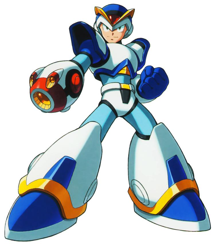 Mega Man X in Armor