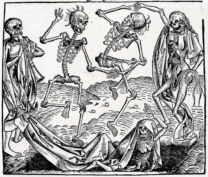 Dance of Death by Michael Wolgemut (1493)