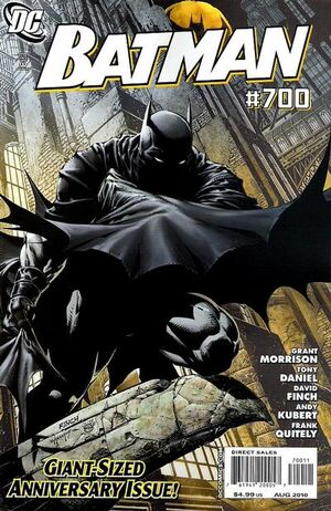 Cover for Batman #700