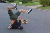 Skateboard-fail