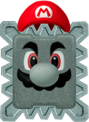 Thwomp Mario NSMBVR