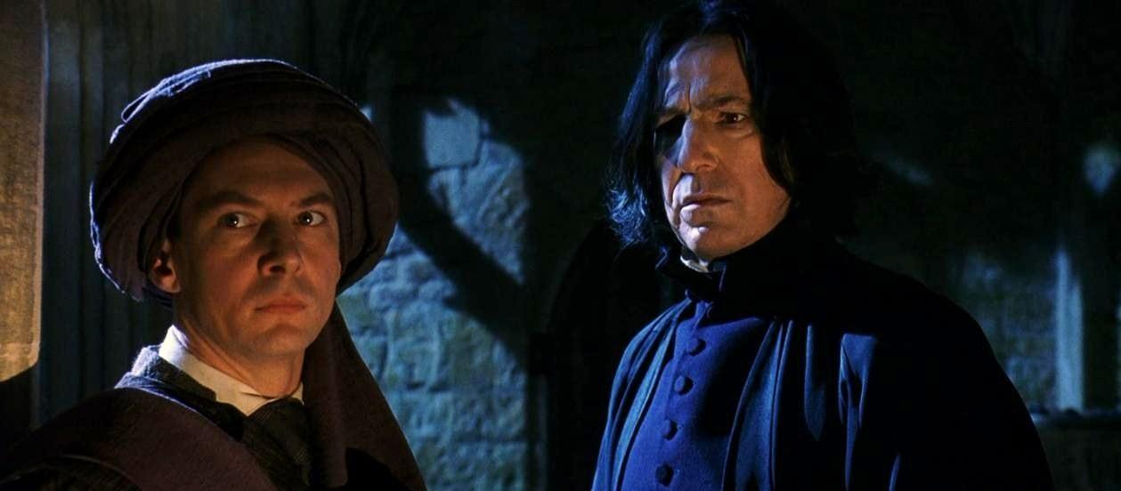 Otro punto de vista. Snape_and_quirrell
