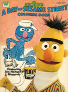 A Day on Sesame Street coloring book