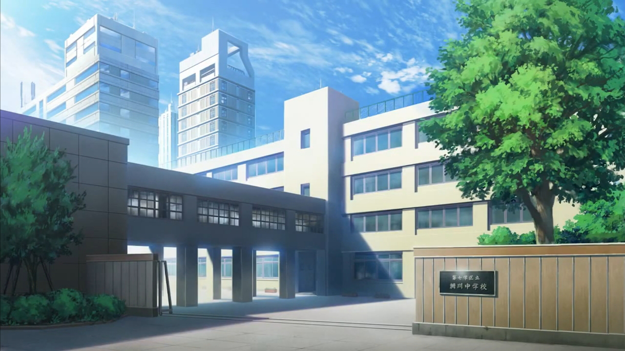 Yukimora High School (Private girl and boy) - Forums - MyAnimeList.net Anime School Front
