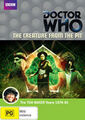 The Creature from the Pit DVD Australian cover