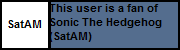 Userbox- Fan Of SatAM