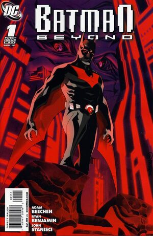 Cover for Batman Beyond #1
