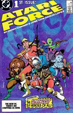 Cover for Atari Force #1