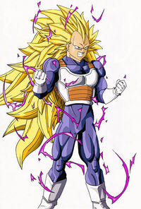 Vegeta Super Saiyan 3 by B 1ne