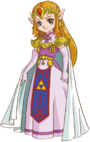 Artwork princesa Zelda OFA OFS