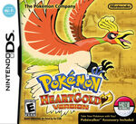Pokemon HeartGold Version box