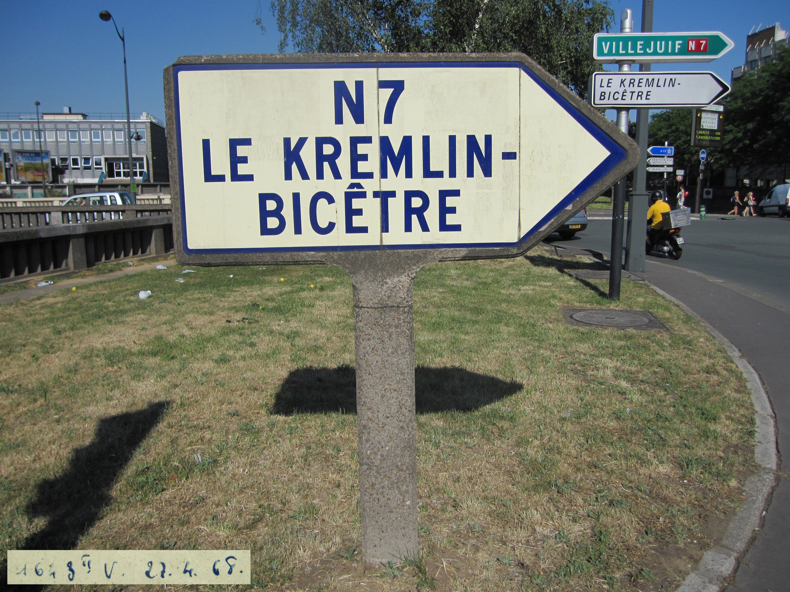 Route nationale fran aise 7 wikisara - 13 avenue de la porte d italie ...