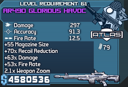 AR490 Glorious Havoc OBY