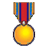Trait icon brave medal