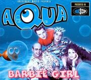 Aqua Barbie-Girl Cover-Art