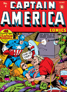 Captain America Comics Vol 1 4
