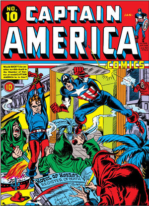 Captain America Comics Vol 1 10