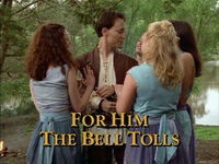 For Him the Bell Tolls TITLE
