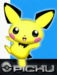Super Smash Bros 3DS/Wii U Pichu_SSBM